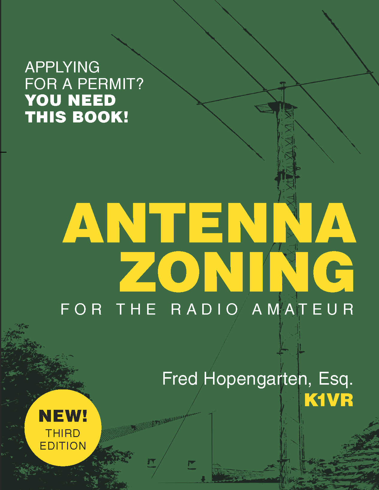 Cover of Antenna Zoning Book - Amateur Radio